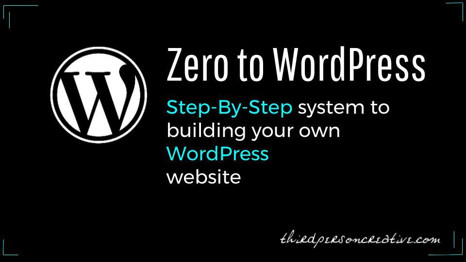 Zero to WordPress